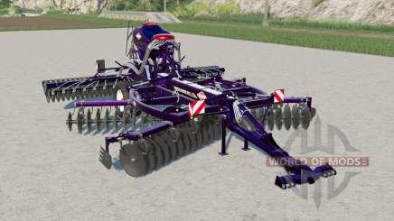 Kuhn Discolander XM 52 metallic para Farming Simulator 2017