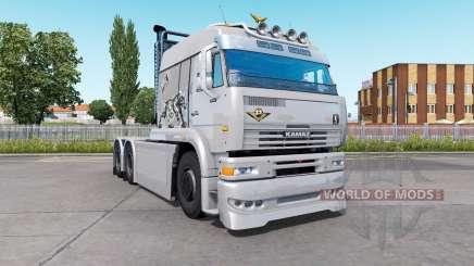 Kamaz-6460 Turbo Dieseᶅ para Euro Truck Simulator 2