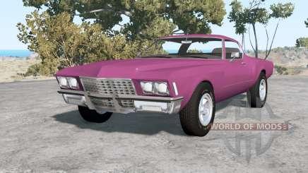 Buick Riviera (49487) 1971 v1.1 para BeamNG Drive