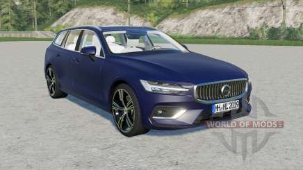 Volvo V60 T6 Inscription 2018 v1.2.1 para Farming Simulator 2017