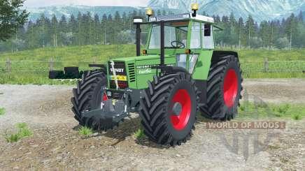 Fendt Favorit 615 LSA Turbomatiꝁ para Farming Simulator 2013