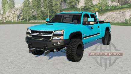 Chevrolet Silveradꝋ para Farming Simulator 2017