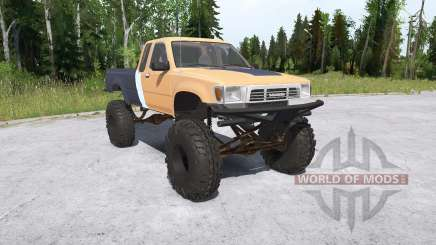 Toyota Hilux Xtra Cab crawler para MudRunner