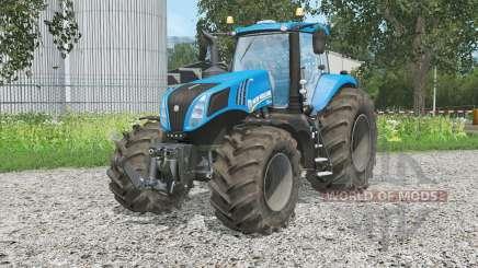 Nova Hollanᴆ T8.320 para Farming Simulator 2015