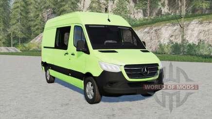 Mercedes-Benz Sprinter 319 CDI Painel Van 201୨ para Farming Simulator 2017