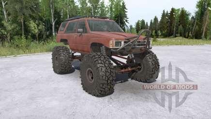 Toyota 4Runner (LN61) lifted para MudRunner