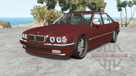 BMW 750iL (E38) 1998 v1.18 para BeamNG Drive