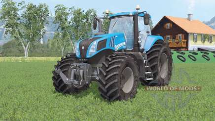 Novo Hollany T8.320 para Farming Simulator 2015