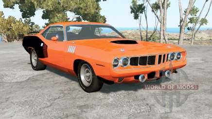 Plymouth Hemi Cuda 1971 para BeamNG Drive