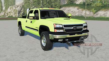 Chevrolet Silveradꝍ para Farming Simulator 2017