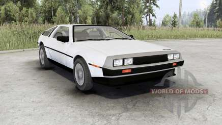 DeLorean DMC-12 para Spin Tires