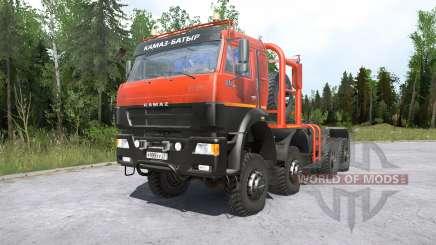 Kamaz-65220 para MudRunner