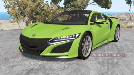 Honda NSX 2016 v1.1 para BeamNG Drive