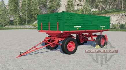Krone DK 220-9 para Farming Simulator 2017