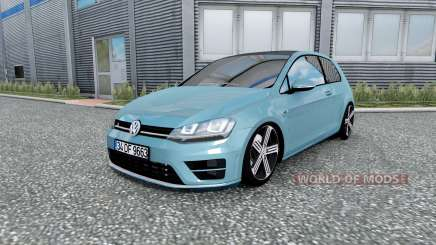Volkswagen Golf R-Line (Typ 5G) 2013 v2.0 para Euro Truck Simulator 2