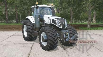 New Holland T8.320 Ultra White para Farming Simulator 2015