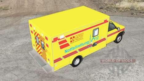 Gavril H-Series German Emergency v1.3 para BeamNG Drive