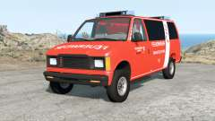 Gavril H-Series German Emergency v1.1 para BeamNG Drive