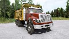 International WorkStar 6x4 Dump Truck 2008 para MudRunner