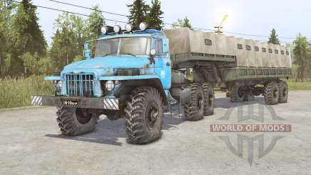 Ural-380S-86Ձ para Spin Tires