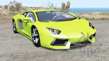 Lamborghini Aventador LP 700-4 (LB834) 2011 para BeamNG Drive