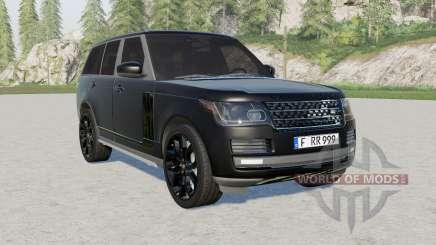 Range Rover Vogue (L405) 2013 Black para Farming Simulator 2017