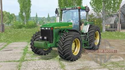 John Deere 8Ꜭ00 para Farming Simulator 2015