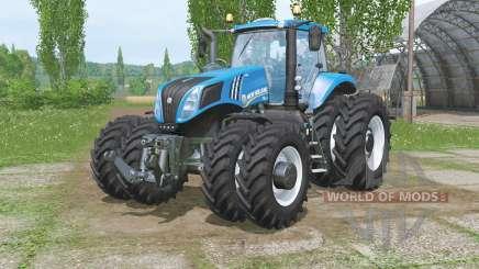 Nova Hollaᶇd T8.320 para Farming Simulator 2015