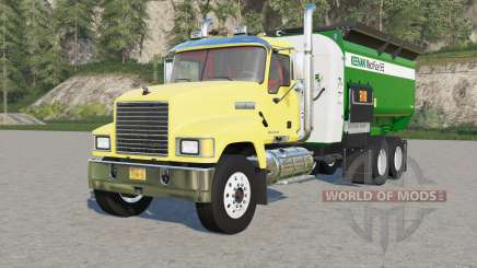 Mack Pinnacle Feed Truck para Farming Simulator 2017