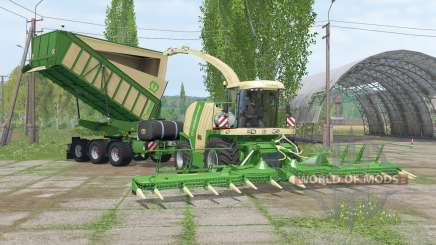 Krone BiG Ꭓ 1100 para Farming Simulator 2015