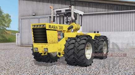 Raba 300 4WD para Farming Simulator 2017