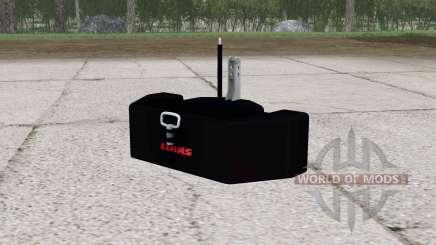 Claas weight v2.0 para Farming Simulator 2015