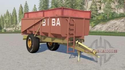 Biba 10T para Farming Simulator 2017