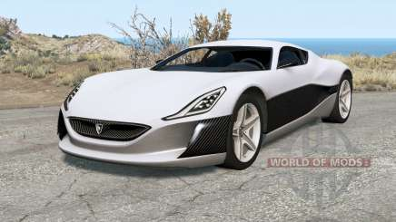 Rimac Concept One para BeamNG Drive
