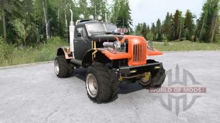 Veículo Sil-157 all-terrain para MudRunner