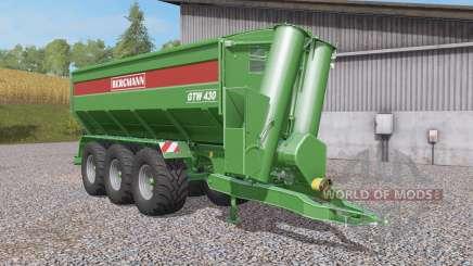 Bergmann GTW 430 tow hitch para Farming Simulator 2017