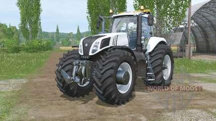 Nova Hollaᵰd T8.320 para Farming Simulator 2015