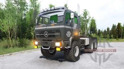Mercedes-Benz NG 2632 (R$ 395) 197Ꝝ para MudRunner