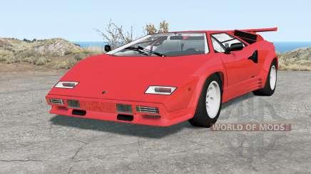 Lamborghini Countach LP5000 S QV 1985 para BeamNG Drive