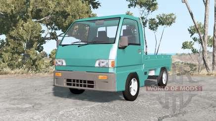 Subaru Sambar truck 1992 para BeamNG Drive