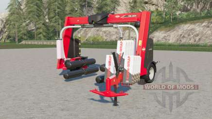 Kuhn SW 4014 triple winding speed para Farming Simulator 2017