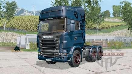 Scania R7ろ00 para Farming Simulator 2015