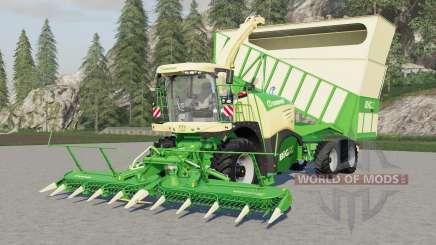 Krone BiG X 580 Cargo para Farming Simulator 2017