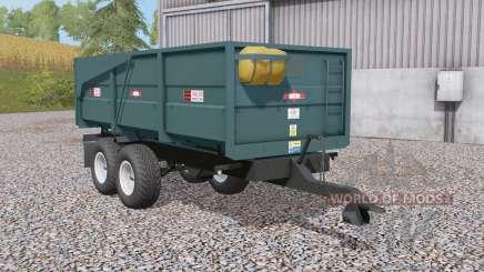 Marston ACE 10 grain & silage trailers para Farming Simulator 2017