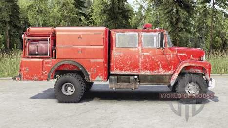 International Harvester Loadstar 1700 Crew Cab para Spin Tires