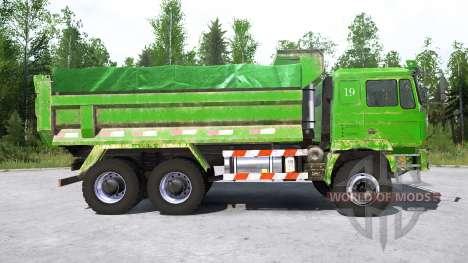 Shacman F3000 6x6 Dump Truck para Spintires MudRunner