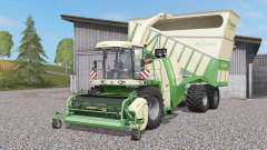 Krone BiG X 1100 Cargꝍ para Farming Simulator 2017