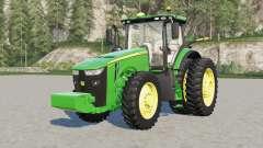 John Deere 8245R-8Ꜭ00R para Farming Simulator 2017