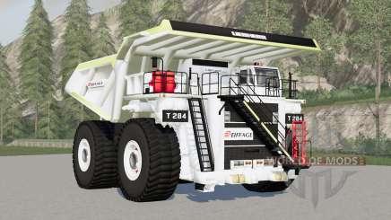 Liebherr T 284 Eiffage para Farming Simulator 2017