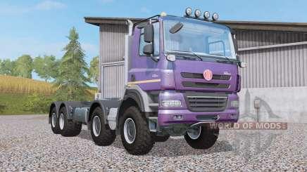 Tatra Phoenix T158 hooklift 8x8 para Farming Simulator 2017